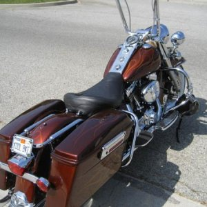 My 2001 Road King Classic