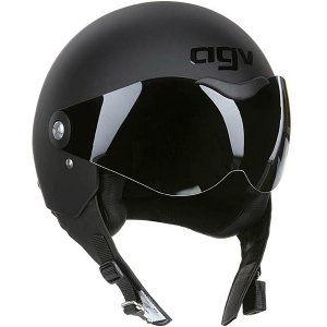 Agv Matte Black Dragon Helmet