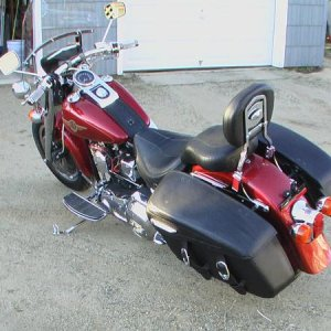 Now A Fatboy Bagger...