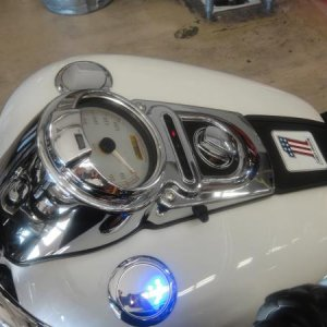 Flush Mount Gas Cap