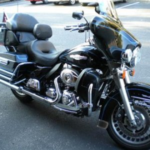 2009 Harley Davidson Peace Officer Edition