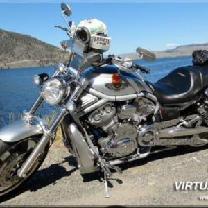 2003 V-rod With Hd Video Camera