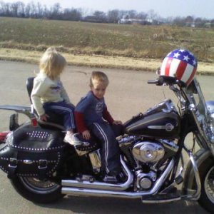 New Harley And My Grand Babys